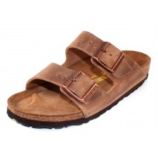 Birkenstock Women's Arizona In Tobacco Brown Oiled Leather
