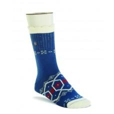 Birkenstock Inuit Sock In Night Blue Cotton