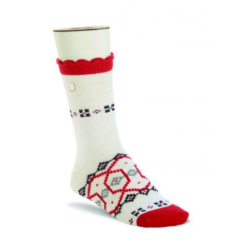 Birkenstock Inuit Sock In Snow White Cotton