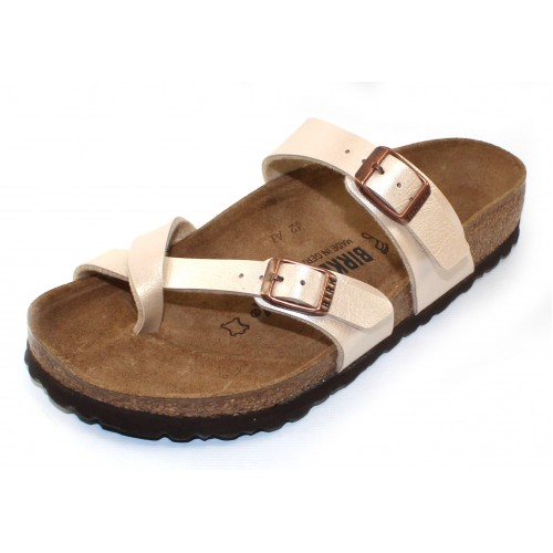 Birkenstock Women's Mayari In Antique Lace Pearlized Birko-Flor