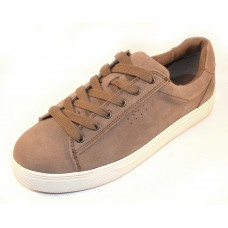 Blondo Women's Jayden In Mushroom Waterproof Suede
