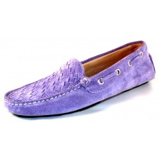 Boemos Women's Drive One 6031 In Violet Suede