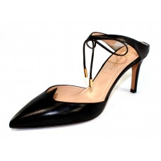 Bruno Magli Women's Aileen 70 In Black Nappa Leather