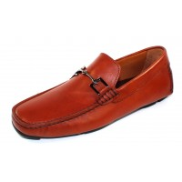 Bruno Magli Men's Monza In Cognac Calf Leather