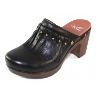 Dansko Women's Deni In Black Full Grain Leather