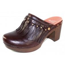 Dansko Women's Deni In Chocolate Full Grain Leather