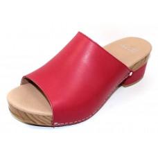 Dansko Women's Maci In Raspberry Full Grain Leather