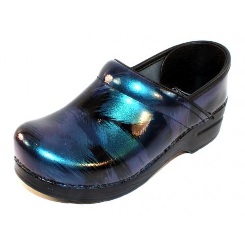 Dansko Women's Professional In Blue Shadow Patent Leather