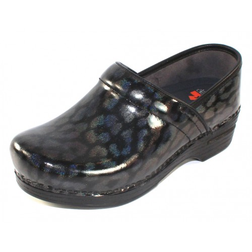 Dansko Women's Professional Xp In Iridescent Leopard Leather