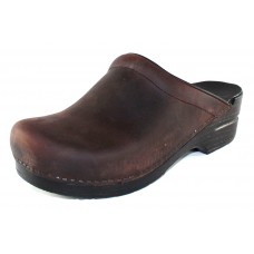 Dansko Women's Sonja In Antique Brown Oiled Leather