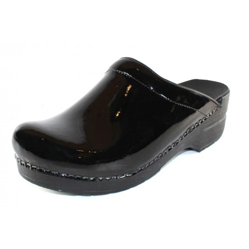 Dansko Women's Sonja In Black Patent Leather