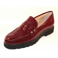 Di Chenzo Women's Hannah In Crimson Patent Leather