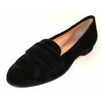 Di Chenzo Women's Harper In Black Crushed Velvet