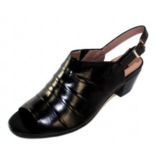 Everybody Women's 66114S3287 In Black Glove Leather