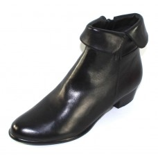 Everybody Women's Anne In Nero Black Agnello Glove Leather