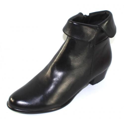 Everybody Women's Anne In Nero Black Agnello Glove Leather