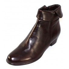 Everybody Women's Anna In Testa Di Moro Dark Brown Agnello Glove Leather