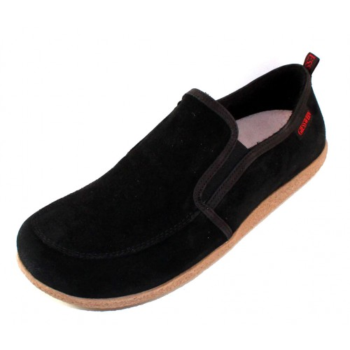 Giesswein Men's Alpen In Black Suede