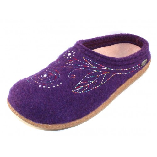 Giesswein Women's Bella In Purple Boiled Wool