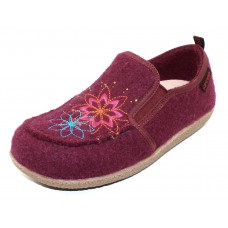 Giesswein Women's Clara In Bordeaux Boiled Wool