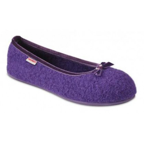Giesswein Women's Hohenau In Purple Boiled Wool