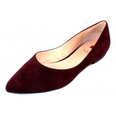 Hogl Women's 100002 In Bordo Suede 4500