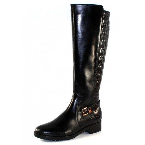 Hogl Women's 100640 In Black Calf Leather 0100