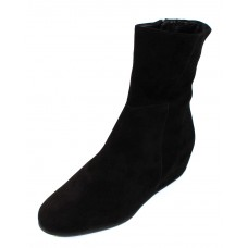 Hogl Women's 104422 In Black Velour Suede 0100