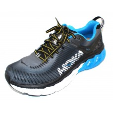 Hoka One One Men's Arahi 2 In Black/Charcoal Grey