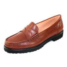 Just Our Shoes Women's Tigre 1799 In Cognac Calf Leather