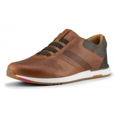 Kizik Men's Boston In Date Tan Full Grain Leather