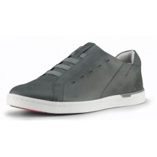 Kizik Men's New York In Castle Grey Full Grain Leather