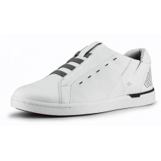 Kizik Men's New York In White Full Grain Leather