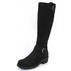 La Canadienne Women's Caleb In Black Waterproof Nubuck