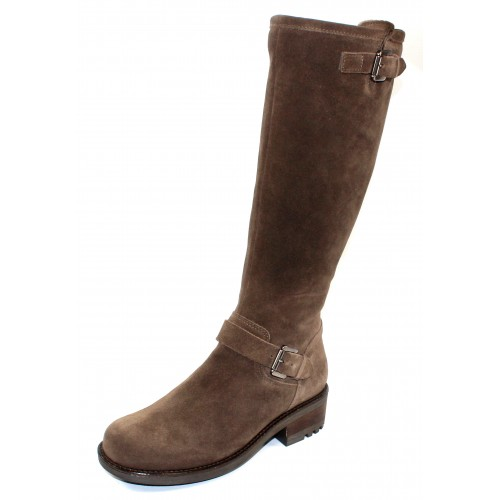 La Canadienne Women's Caleb In Stone Oiled Waterproof Suede