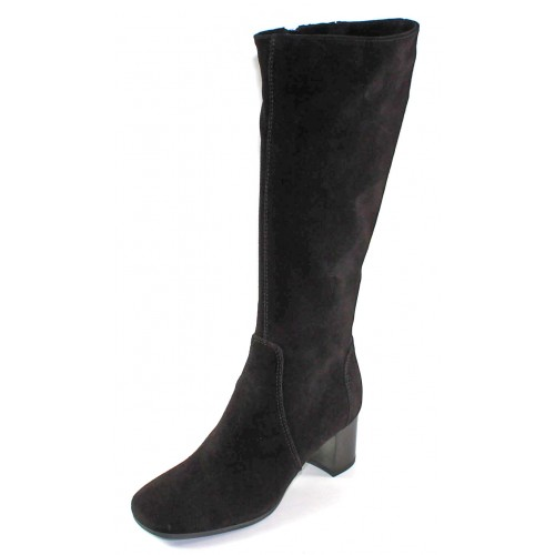 La Canadienne Women's Jackie In Black Waterproof Suede