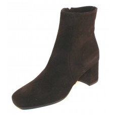 La Canadienne Women's Jojo In Black Waterproof Suede