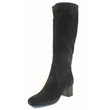 La Canadienne Women's Josaphine In Black Waterproof Suede