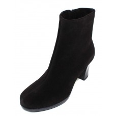 La Canadienne Women's Kerri In Black Waterproof Suede