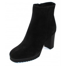 La Canadienne Women's Myranda In Black Waterproof Suede