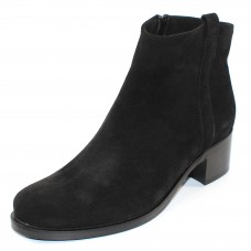 La Canadienne Women's Presley In Black Waterproof Suede
