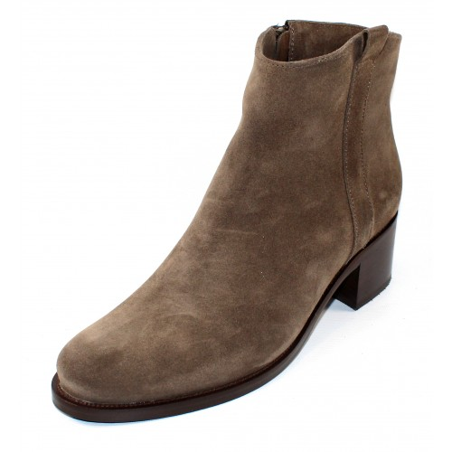 La Canadienne Women's Presley In Stone Oiled Waterproof Suede