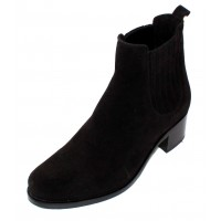 La Canadienne Women's Prince In Black Waterproof Suede