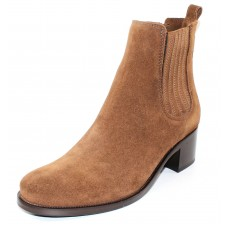 La Canadienne Women's Prince In Brandy Waterproof Suede