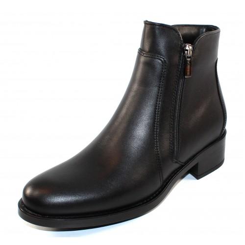 La Canadienne Women's Sydney In Black Waterproof Leather