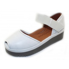 Lamour Des Pieds Women's Amadour In White Lamba Soft Nappa Leather