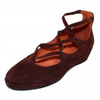 Lamour Des Pieds Women's Benham In T. Moro Brown Suede