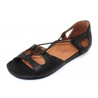 Lamour Des Pieds Women's Darron In Black Nappa Leather