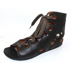 Lamour Des Pieds Women's Dionisa In Black Lamba Soft Nappa Leather