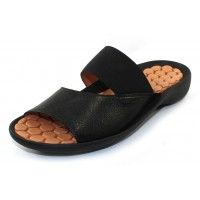 Lamour Des Pieds Women's Northville In Black Lamba Soft Nappa Leather